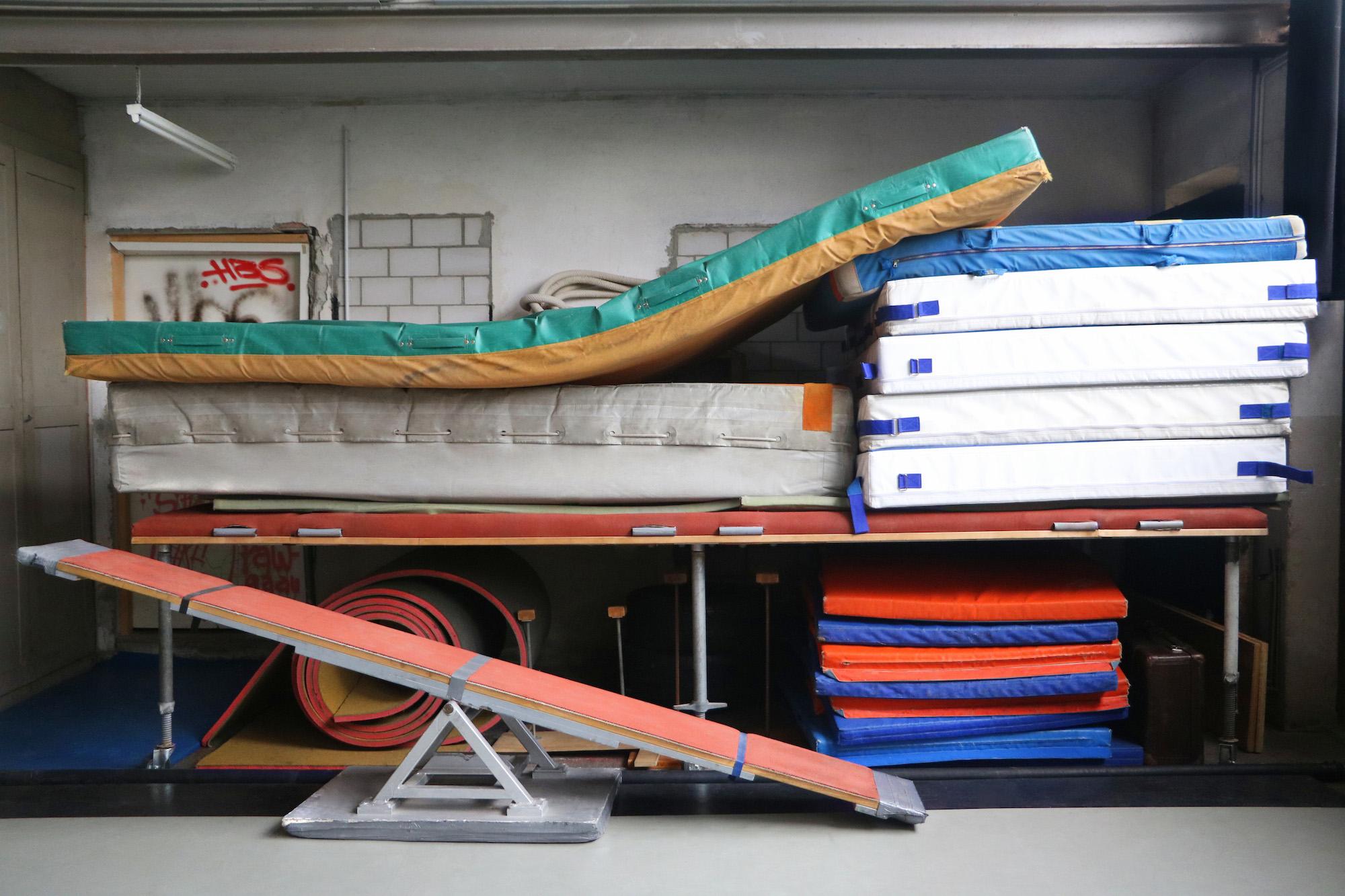 Equipment für Kurse im Zirkusquartier